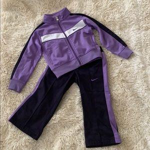 Nike jogger set for little girls